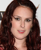 Rumer Willis's Long Curly Hairstyle with Braids
