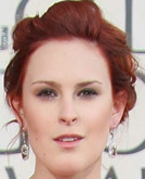 Rumer Willis with Red Hairstyle at Golden Globes 2009
