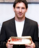 Lionel Messi's Short Hairstyle