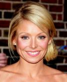Kelly Ripa with Breezy side ponytail