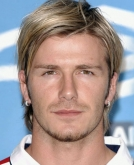 David Beckham's Medium Hawk Hairstyle
