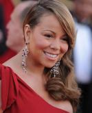 Mariah Carey's Elegant Side Swept Hairstyle