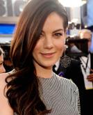 Michelle Monaghan Elegant Side Swept Hairstyle