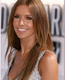 Audrina Patridge's Straight Hairstyle