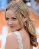 Abbie Cornish's Half Up Wavy Hairstyle