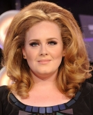 Adele's Big, Retro Blonde Waves