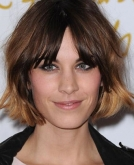 Alexa Chung's New Short Bob Hairstyle