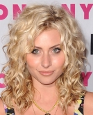 Alyson Michalka's Untamed Curly Hairstyle