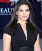 America Ferrera's Sleek Straight Hairstyle