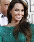 Angelina Jolie's Long Brunette Hairstyle
