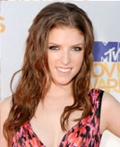 Anna Kendrick's Long Curly Hairstyle