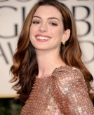 Anne Hathaway's Long Wavy Hairstyle