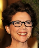 Annette Bening's Loose, Curly Updo