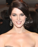 Ashley Greene's Elegant Low Side Bun