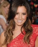 Ashley Tisdale's Long Loose Curly Hairstyle