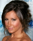 Ashley Tisdale's Wavy Updo