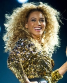 Beyonce's Curly Ringlets Hairstyle