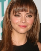 Christina Ricci's Long Hairstyle With Bangs