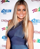 Carmen Electra's Long Straight Hairstyle