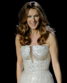 Celine Dion's Long, Wavy Hairstyle