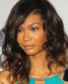 Chanel Iman's Medium Bouncy Curls