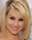 Chelsea Staub's Straight Medium Blond Hairstyle