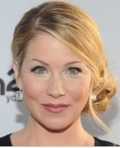 Christina Applegate's Sweet Low Side Chignon