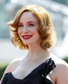 Christina Hendricks' Blonde Wavy Hairstyle