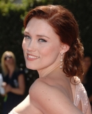 Claire Grant's Low Side Swept Updo