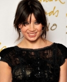 Daisy Lowe's Messy Updo Hairstyle