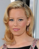 Elizabeth Banks'  Medium Blonde Hairstyle