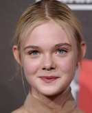 Elle Fanning's Sleek, Low Bun
