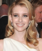 Emma Roberts' Long, Blond Curly Hairstyle