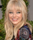 Emma Stone's Long, Blonde Locks