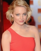 Emma Stone's Blonde Bob Haircut