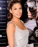 Eva Mendes With A High Ponytail