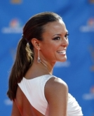 Eva LaRue's Sleek Ponytail
