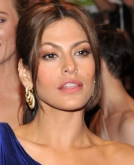 Eva Mendes' Sleek, Low Ponytail