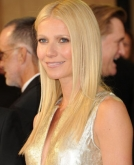 Gwyneth Paltrow's Sleek, Straight Blonde Hair