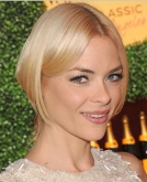 Jaime King's Faux Bob Hairstyle
