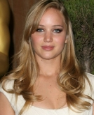 Jennifer Lawrence's Long, Blond Hairstyle