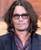 Johnny Depp's Long Wavy Hairstyle