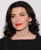 Julianna Margulies' Wide, Retro Waves