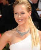 Julie Benz's High Ponytail