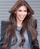Kim Kardashian Has A New Hair Color