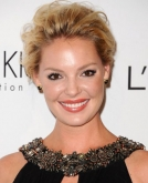 Katherine Heigl's Voluminous Wavy Updo