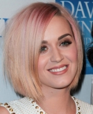 Katy Perry Debuts New Short Bob Haircut and New Hair Color