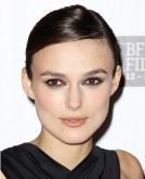 Keira Knightley's Sleek Low Bun