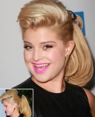 Kelly Osbourne's Ponytail Hairstyle