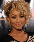 Keri Hilson's Short Curly Haircut
